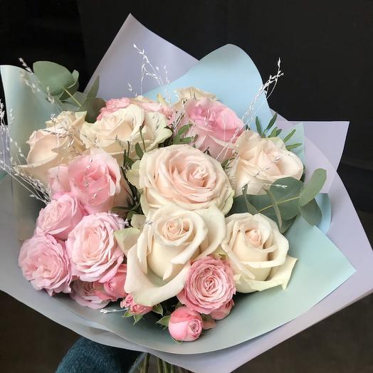 Молочный ️: букеты цветов на заказ Flowwow