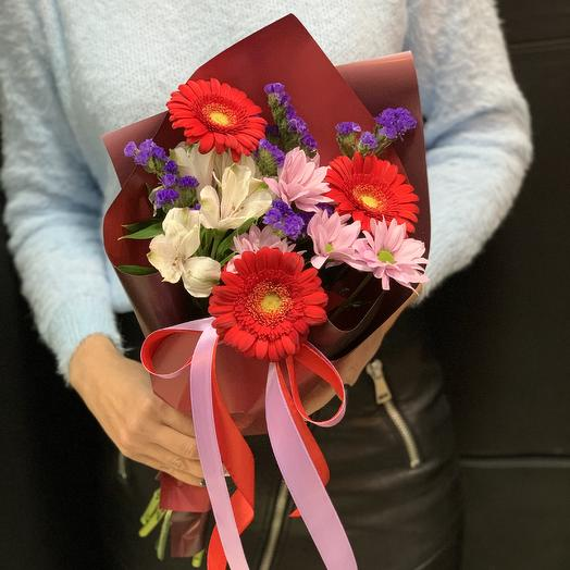 Букет комплимент «Бордо»: букеты цветов на заказ Flowwow