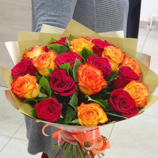 Букет 233: букеты цветов на заказ Flowwow