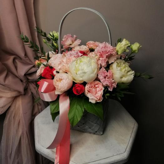 Лукошко твоей принцессы: букеты цветов на заказ Flowwow