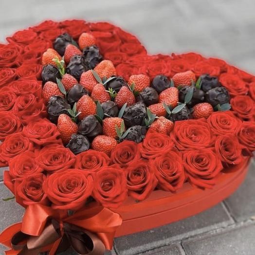 С Днём Влюблённых: букеты цветов на заказ Flowwow