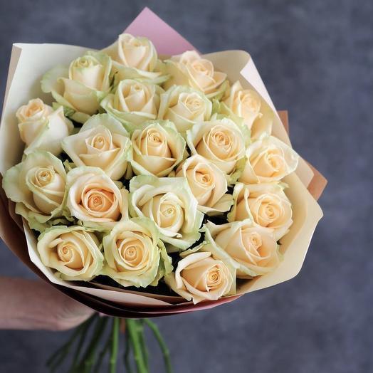 Букет «Кокосовый пудинг»: букеты цветов на заказ Flowwow