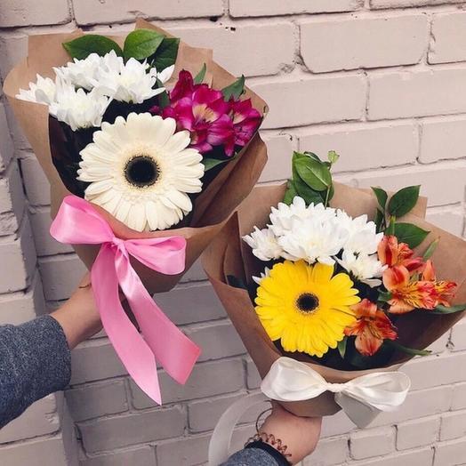 Микс букет: букеты цветов на заказ Flowwow