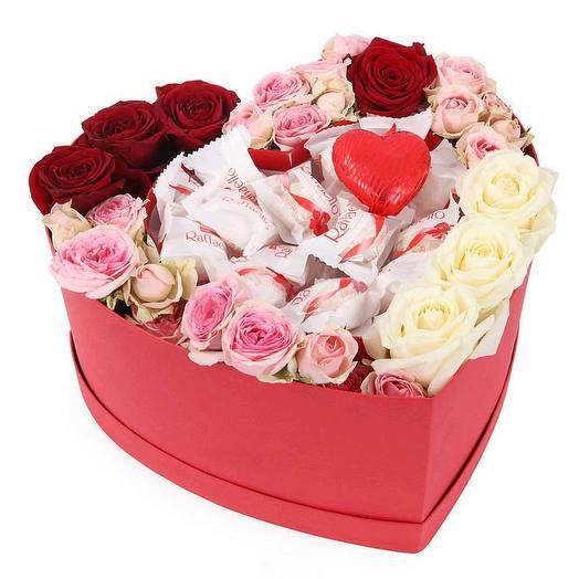 """Цветы в коробке """"Весенний ветер"""""""