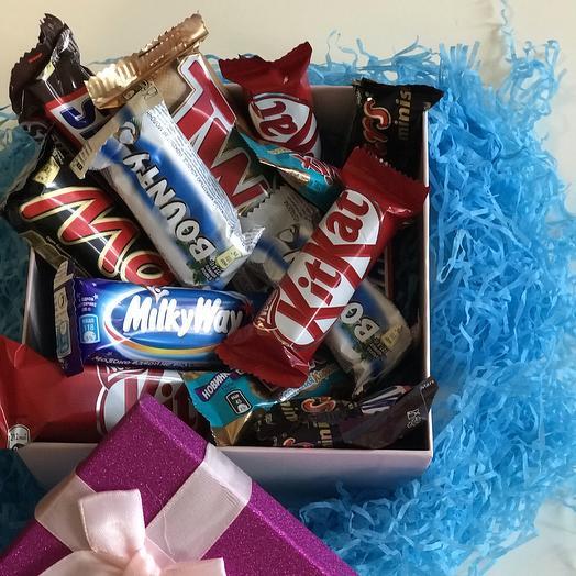 Шоколадная коробка: букеты цветов на заказ Flowwow