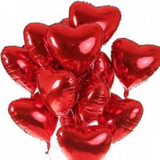 Набор «15 сердец» В НАЛИЧИИ: букеты цветов на заказ Flowwow