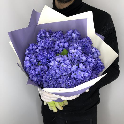 Ароматные гиацинты: букеты цветов на заказ Flowwow