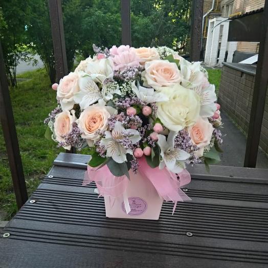 Микс Нежность: букеты цветов на заказ Flowwow