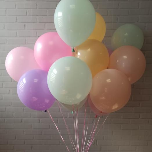 """Набор из 15 шаров """"Пудровое настроение"""""""