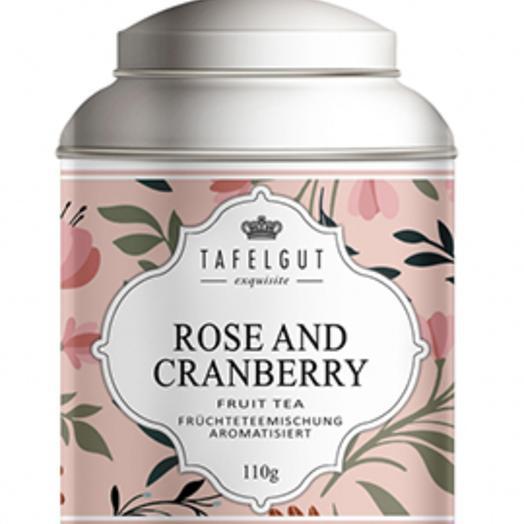 Чай ROSE AND CRANBERRY