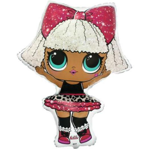 Шар фольга Фигура Куклы Лол Diva (FM)G36