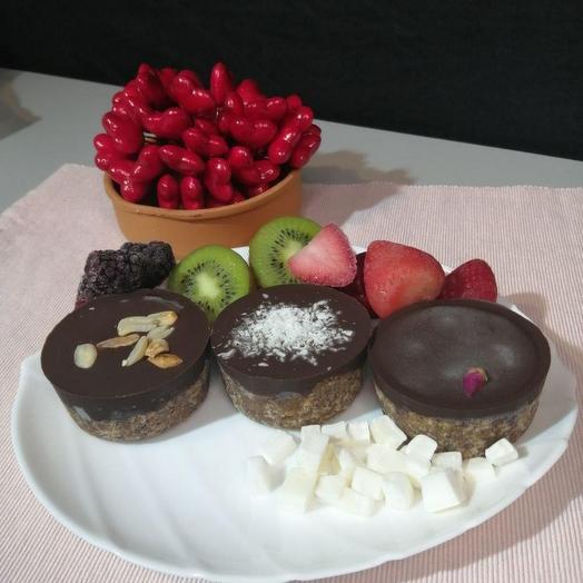 Набор лава-кейков 3 шт