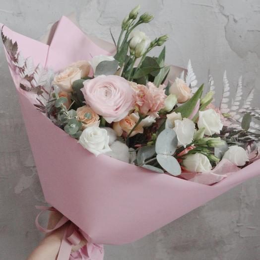Самый любимый розовый букет