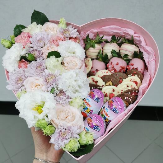 Цветы и сладости в сердце