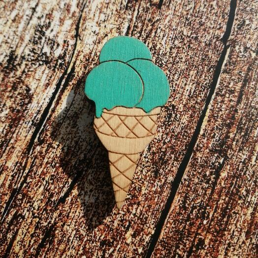 Значок - Мороженое