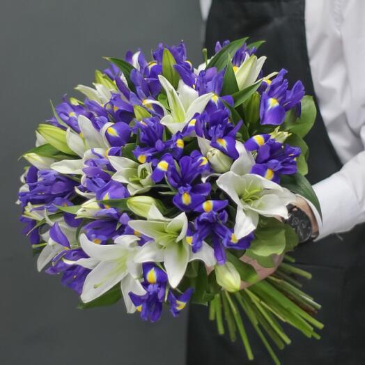 Букет цветов «Аромат вёсны»