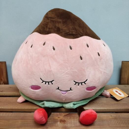 Клубничка (игрушка - подушка)
