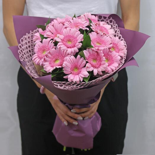 Букет цветов Малиновое лакомство