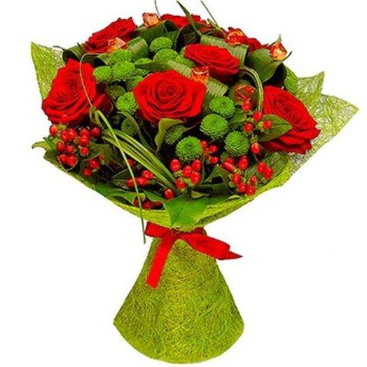БЦ-160107 Красотка: букеты цветов на заказ Flowwow