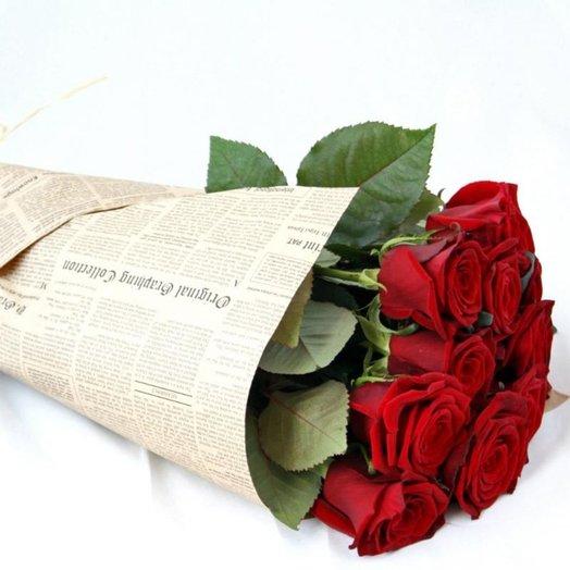 Roses on birthday