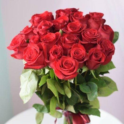 21 роза Фридом: букеты цветов на заказ Flowwow