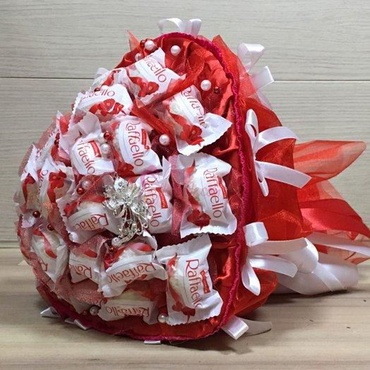 Букет из конфет Рафаэлло KF-07