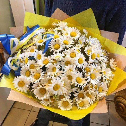 101 ромашка: букеты цветов на заказ Flowwow