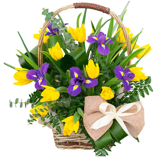 Блюз: букеты цветов на заказ Flowwow