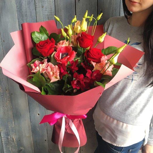Чудесное пожелание: букеты цветов на заказ Flowwow