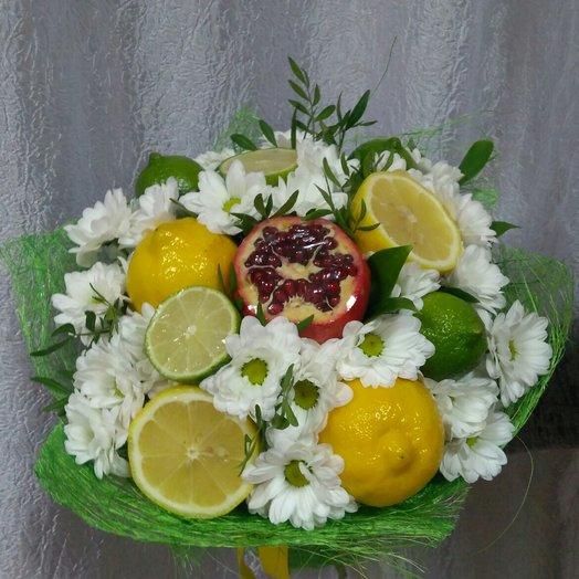 Цитрусовый бриз: букеты цветов на заказ Flowwow