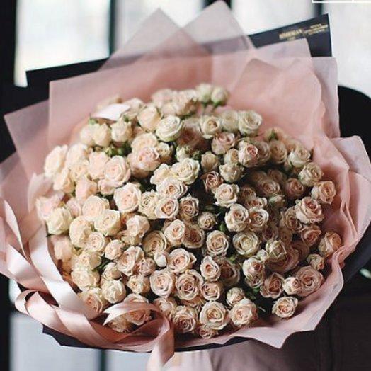 Шикарный букет Чайных роз.