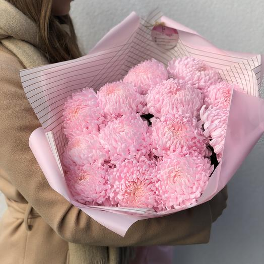 13 шариков хризантем