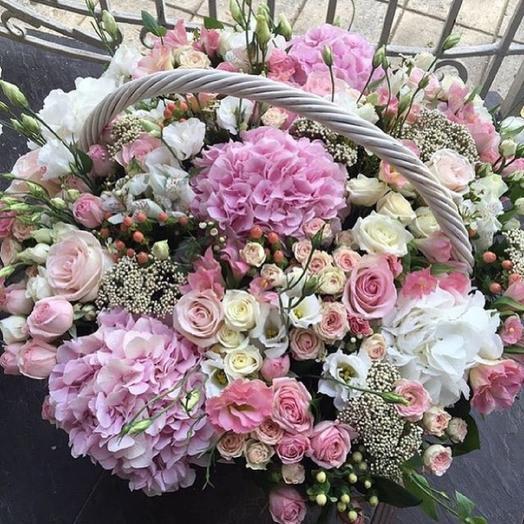 Корзина Нежность: букеты цветов на заказ Flowwow