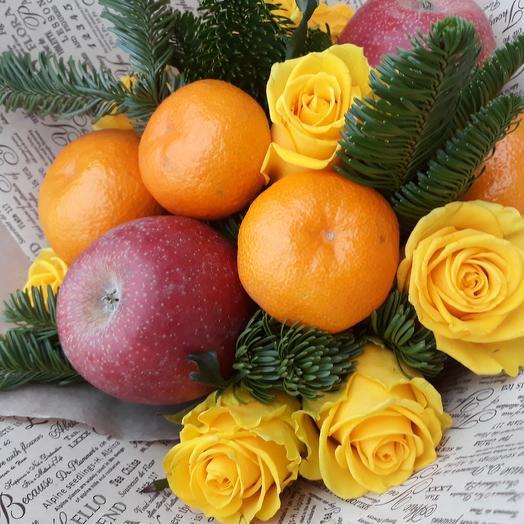 Букет Зима: букеты цветов на заказ Flowwow