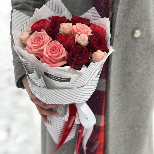Клубничный джем: букеты цветов на заказ Flowwow