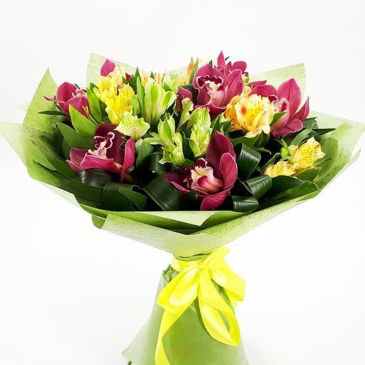 Весенняя рапсодия: букеты цветов на заказ Flowwow