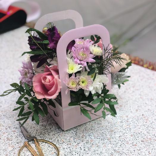 Мини 2: букеты цветов на заказ Flowwow