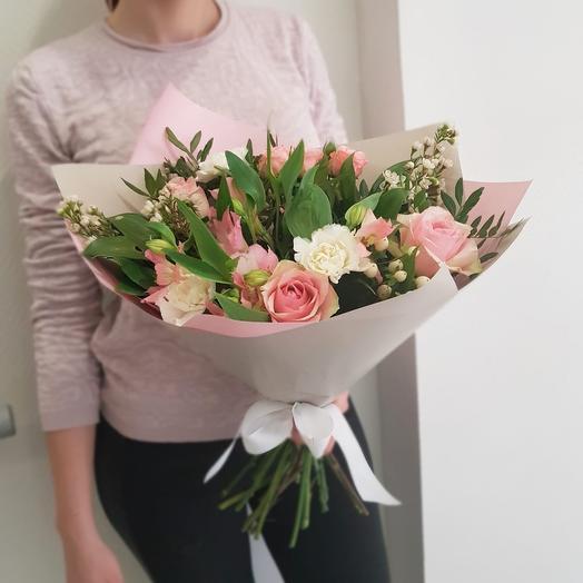 Нежный свет: букеты цветов на заказ Flowwow