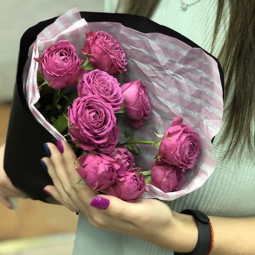 Мини баблс: букеты цветов на заказ Flowwow