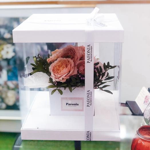 Коробка 40: букеты цветов на заказ Flowwow