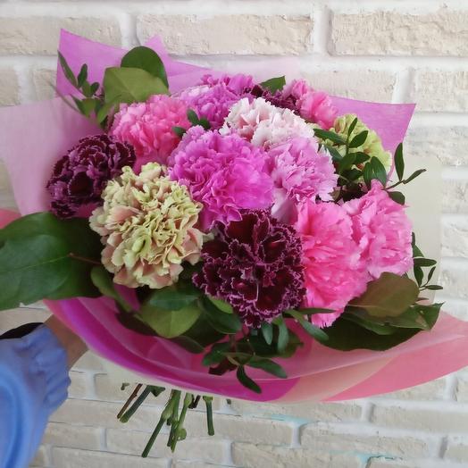 Яркий сад: букеты цветов на заказ Flowwow
