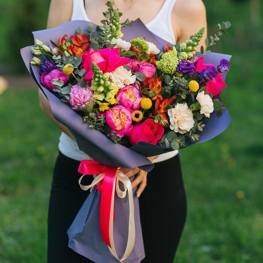 Мистерия огня: букеты цветов на заказ Flowwow