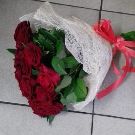 Букет с любовью: букеты цветов на заказ Flowwow