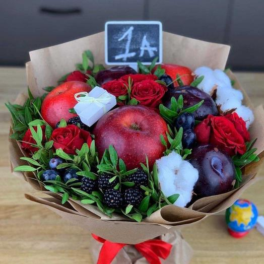 Букетик к 1 сентября: букеты цветов на заказ Flowwow