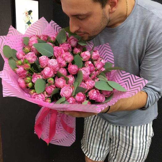 Розовый Бум: букеты цветов на заказ Flowwow