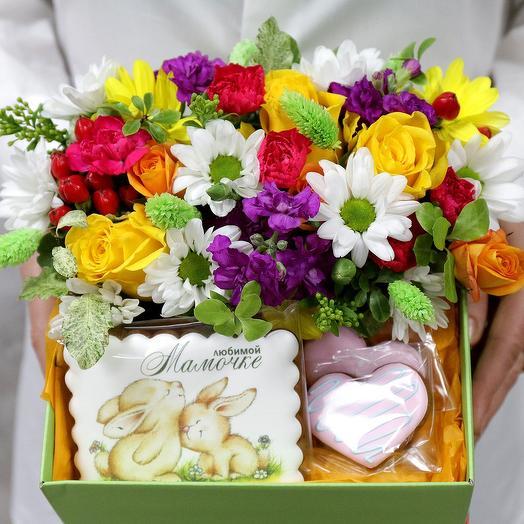 КОМПОЗИЦИЯ ЛУЧШЕЙ МАМЕ: букеты цветов на заказ Flowwow