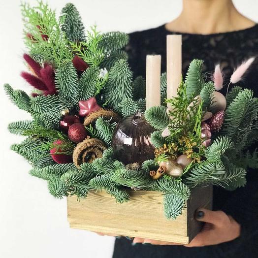 Сказочные огни: букеты цветов на заказ Flowwow