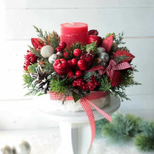 Мелодия Рождества: букеты цветов на заказ Flowwow
