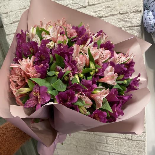 Альстромерия по супер цене: букеты цветов на заказ Flowwow