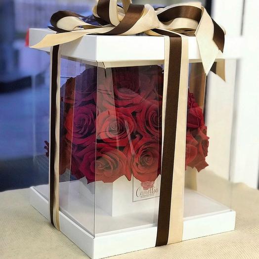 Букет Red Rose: букеты цветов на заказ Flowwow